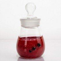 Custom Ground Glass Jars