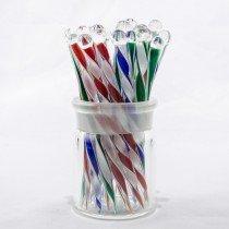 Striped Glass Picks