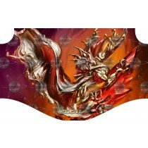 Liquid Metal Dragon Super Surfer Wave Rider